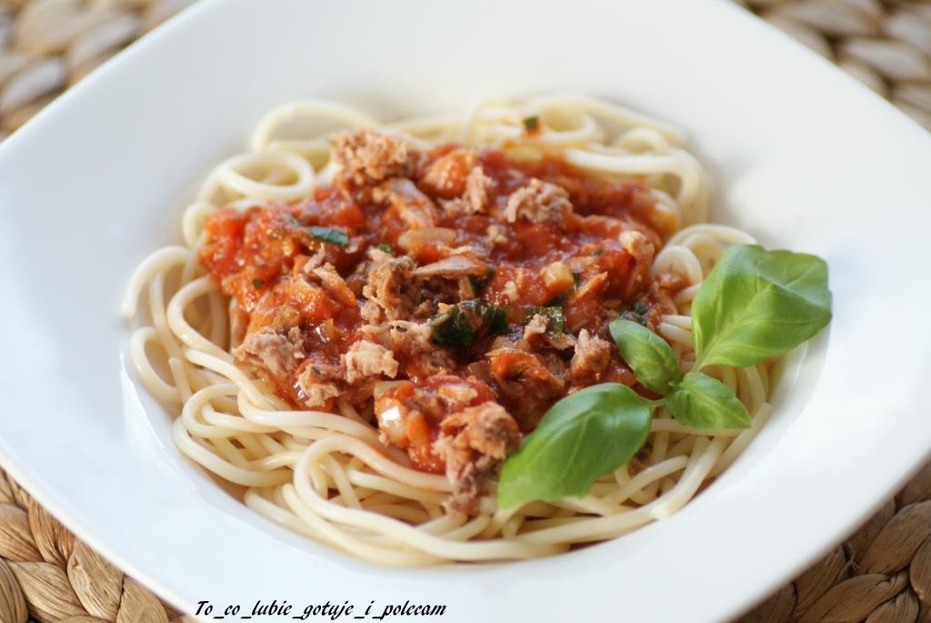 Spaghetti_z_tuńczykiem_To_co_lubie_gotuje_i_polecam