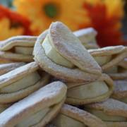 Kruche ciasteczka z jabłkami