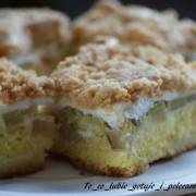 Ciasto z rabarbarem II