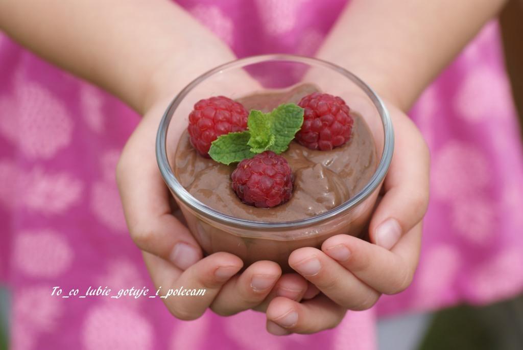 Krem mus czekoladowy z awokado