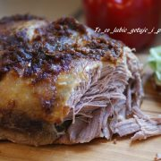 Pulled pork - szarpana wieprzowina