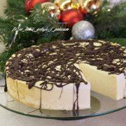 Sernik z mascarpone i polewą czekoladową