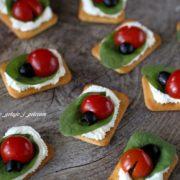 Mini kanapeczki imprezowe - biedronki